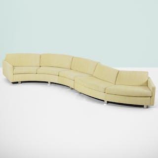 MILO BAUGHMAN, modular sofa | Wright20.com