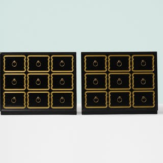 DOROTHY DRAPER, cabinets from the Espana Group, pair   Wright20.com