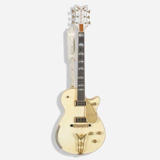 GRETSCH, 2015 G6134-CS White Penguin electric guitar | Wright20.com