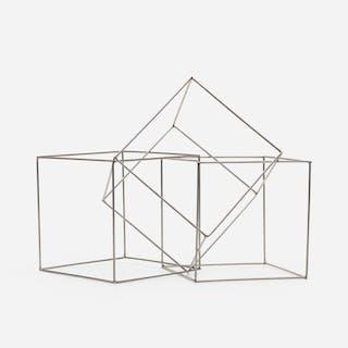 FRANÇOIS MORELLET, Trois cubes imbriqués | Wright20.com