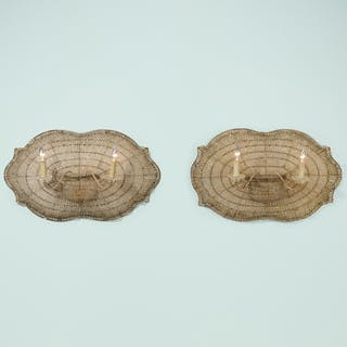 FRENCH, sconces, pair | Wright20.com