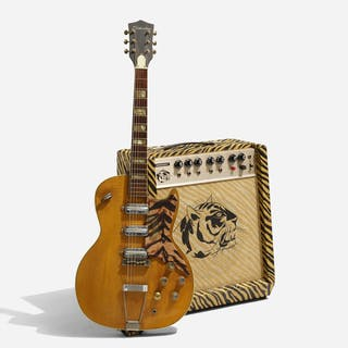 SILVERTONE, 1445 electric guitar and Gregory amplifier | Wright20.com