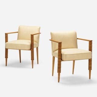 ITALIAN, armchairs, pair | Wright20.com