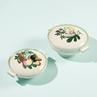 COLETTE GUEDEN, tureens, set of two | Wright20.com