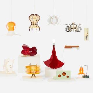 JORGE PARDO, Penelope (set of twelve Subscription Lamps) | Wright20.com