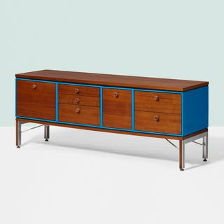 CHARLES AND RAY EAMES, cabinet from the IBM Pavilion, New York World's