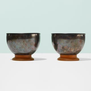 GEOFFREY BEENE, bowls, pair | Wright20.com