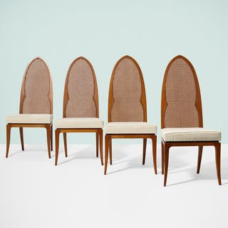 HARVEY PROBBER, Arch Back chairs, set of four | Wright20.com