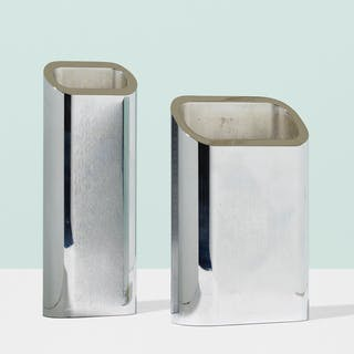 GIORGETTI E SORGATO, vases, set of two | Wright20.com