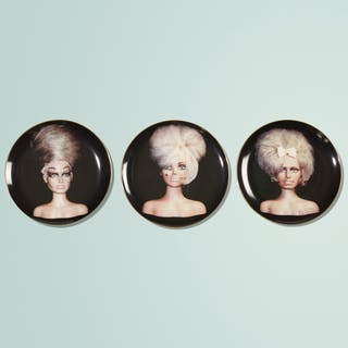 JOHN WATERS, The Girls (set of three plates) | Wright20.com
