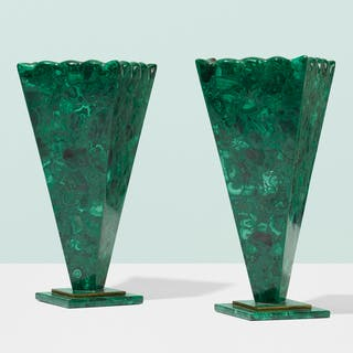 FRENCH, vases, pair | Wright20.com