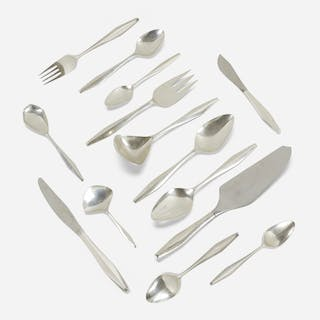 GIO PONTI, Diamond silverware | Wright20.com