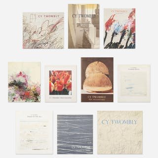 Cy Twombly monographs, twenty-eight | Wright20.com