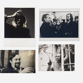 VARIOUS ARTISTS, photographs of Bruce Conner (four works) | Wright20.com
