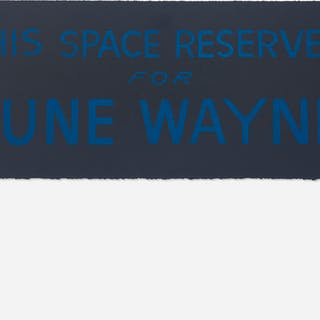 BRUCE CONNER, This Space Reserved for June Wayne | Wright20.com