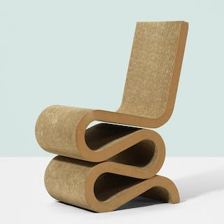 FRANK GEHRY, Wiggle chair | Wright20.com