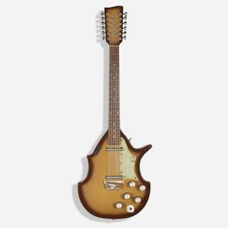 DANELECTRO, 1966 Bellzouki twelve string electric guitar, model 7021