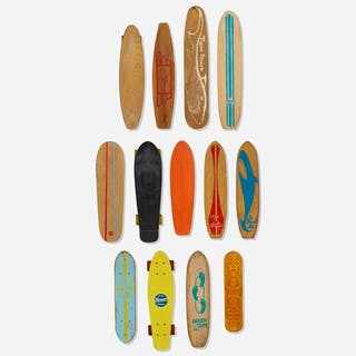 CALIFORNIA MODERN, collection of thirteen skateboards | Wright20.com