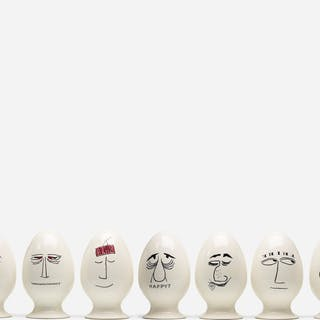 LAGARDO TACKETT, Eggheads, collection of nine | Wright20.com