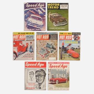 collection of seven car magazines | Wright20.com