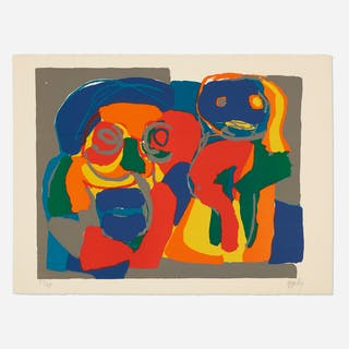 KAREL APPEL, Deux Figures | Wright20.com