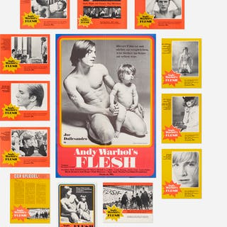 ANDY WARHOL, Flesh film poster and lobby cards | Wright20.com