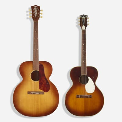 OLD KRAFTSMAN AND KAY, acoustic guitars, set of two | Wright20.com