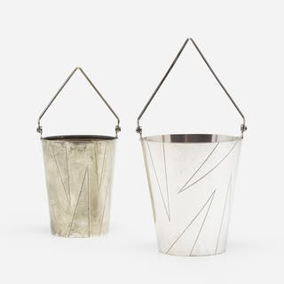 BERNARD RICE, champagne and ice buckets, set of two | Wright20.com