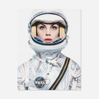 AFTER RICHARD AVEDON, Jean Shrimpton in a NASA Spacesuit | Wright20.com