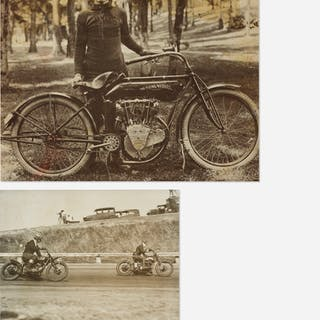 AMERICAN, motorcycle photographs (two works) | Wright20.com