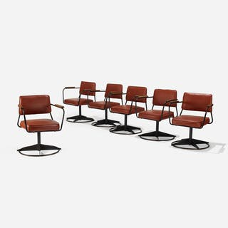 after jean prouvÉ set of six armchairs wright20 com current