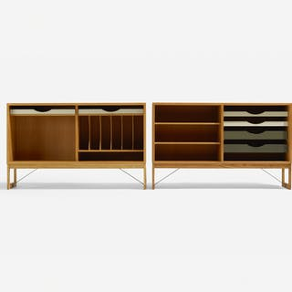 BØRGE MOGENSEN, cabinets, pair | Wright20.com
