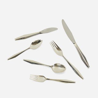 GIO PONTI, Diamond silverware | Wright20.com