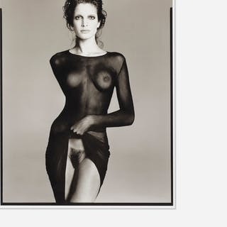 AFTER RICHARD AVEDON, Stephanie Seymour, Model, New York City, 1992