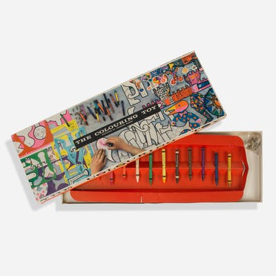 CHARLES AND RAY EAMES, The Coloring Toy   Wright20.com