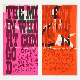 CORITA KENT (SISTER MARY CORITA), only you and i (diptych) | Wright20.com
