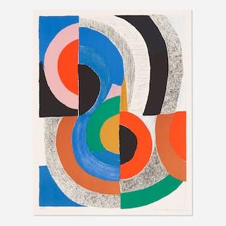 SONIA DELAUNAY, Hippocampe | Wright20.com