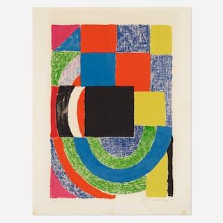 SONIA DELAUNAY, Carré Noir | Wright20.com