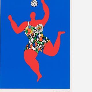 NIKI DE SAINT PHALLE, Volleyball (Nana) | Wright20.com