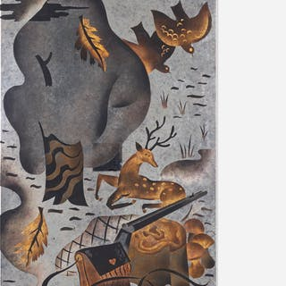PAULE AND MAX INGRAND, Untitled (Hunting Scene) | Wright20.com