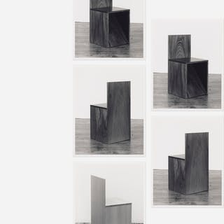 D. JAMES DEE, Donald Judd chair photographs for Paula Cooper Gallery