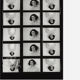 CHRISTOPHER MAKOS, Lady Warhol contact sheet | Wright20.com