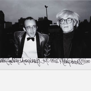 RICKY POWELL, Keith Haring & Andy Warhol, NYC | Wright20.com