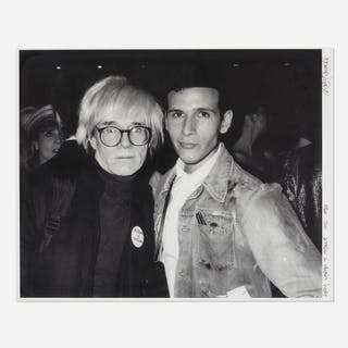 RICKY POWELL, Andy Warhol & Myself, NYC | Wright20.com