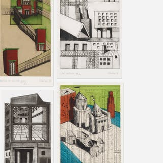 ALDO ROSSI, collection of four works | Wright20.com