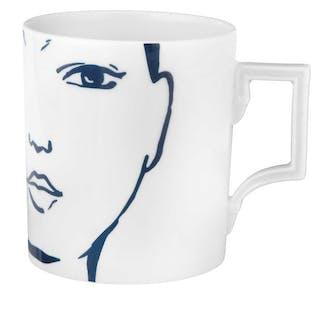 "MEISSEN Kaffeebecher, Form ""Berlin"", ""Carol"""