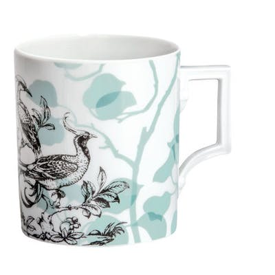 """MEISSEN Kaffeebecher, Form """"Berlin"""", """"Camou Birds"""""""